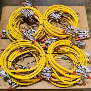 Grounding Cables: Assembly, test, recondition, repair - we build custom grounds & sell grounding equipment: sets, clusters, clamps, ferrules, & cable.