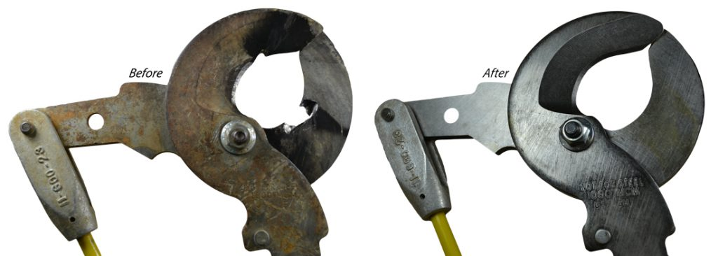 hastings tool repair- before and after