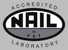 NAIL for PET accredited test lab