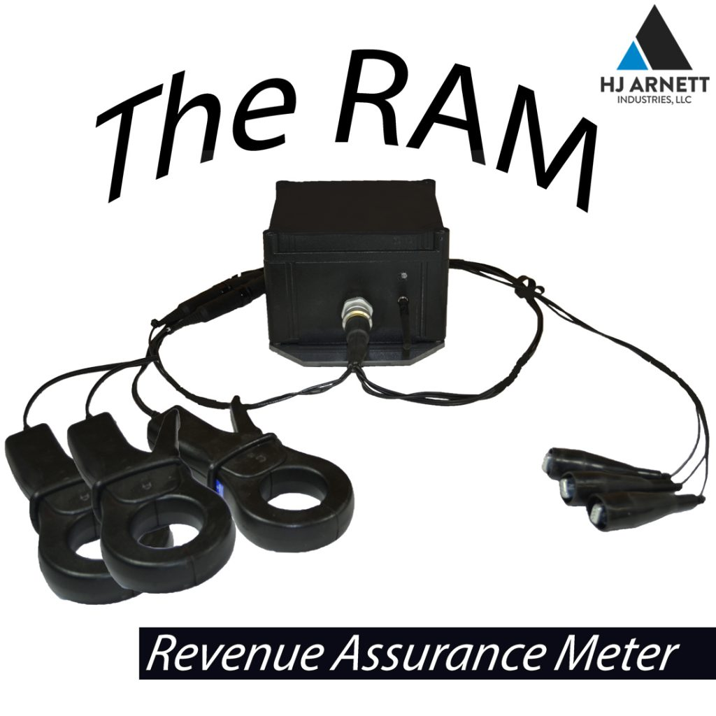The RAM check meter shown with 3 CT's
