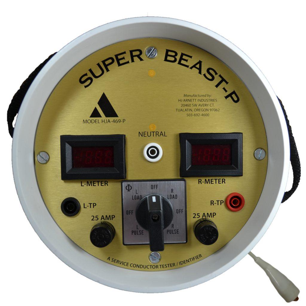 Super Beast Pulse- Pulsing 20 amp load - HJA-469-P - HJA-469-PSCO | HJ Arnett Industries | Service Conductor Tester | (503) 692-4600