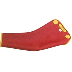 Salisbury Class 3 Dipped Sleeve, Red/Yellow, Extra Curved (Max Use: 26.5 kV)