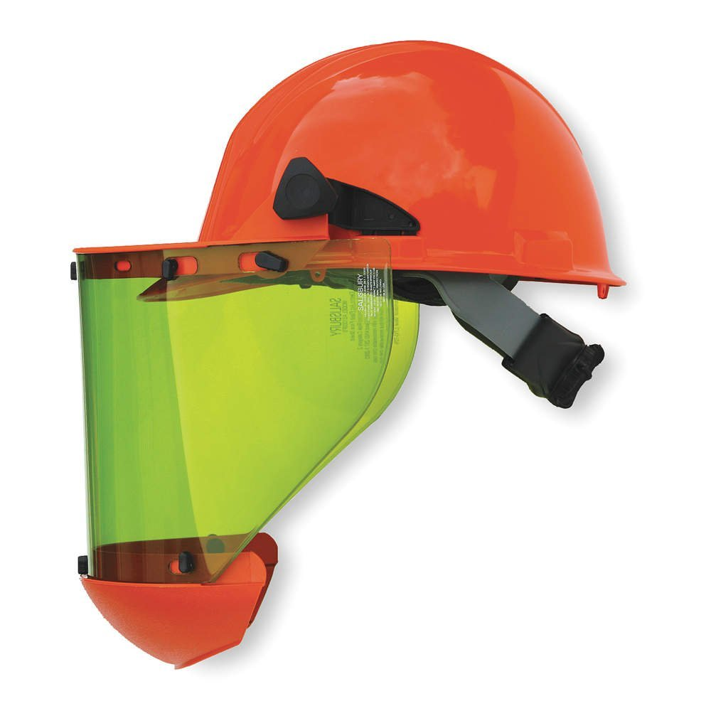 Salisbury Arc Flash Face Shield & Hard Hat (10 Cal)
