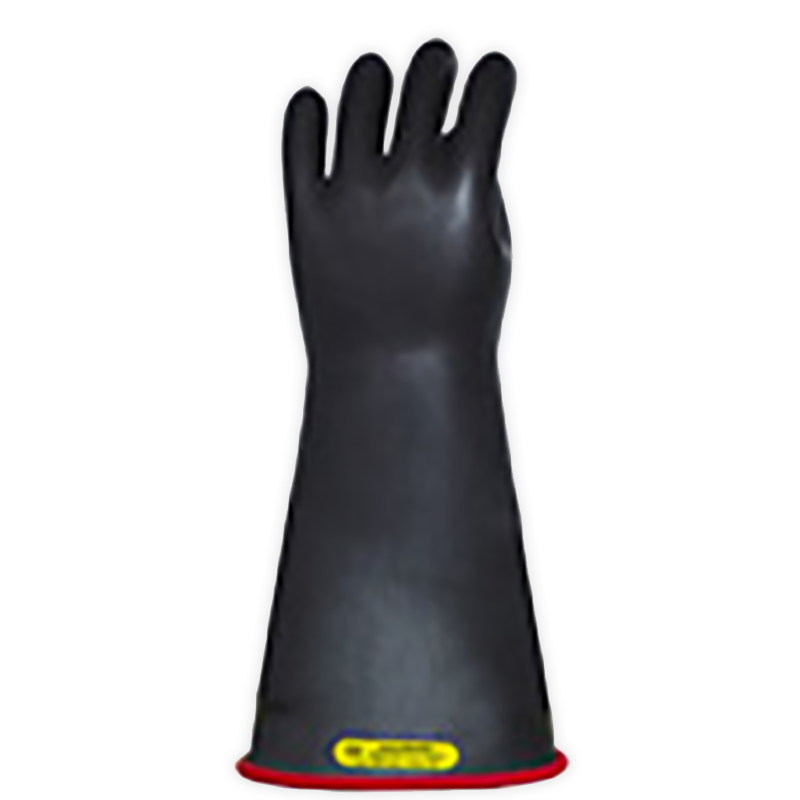"Salisbury Class 2 Rubber Gloves Red/Black 14"" (Max Use: 17kV)"