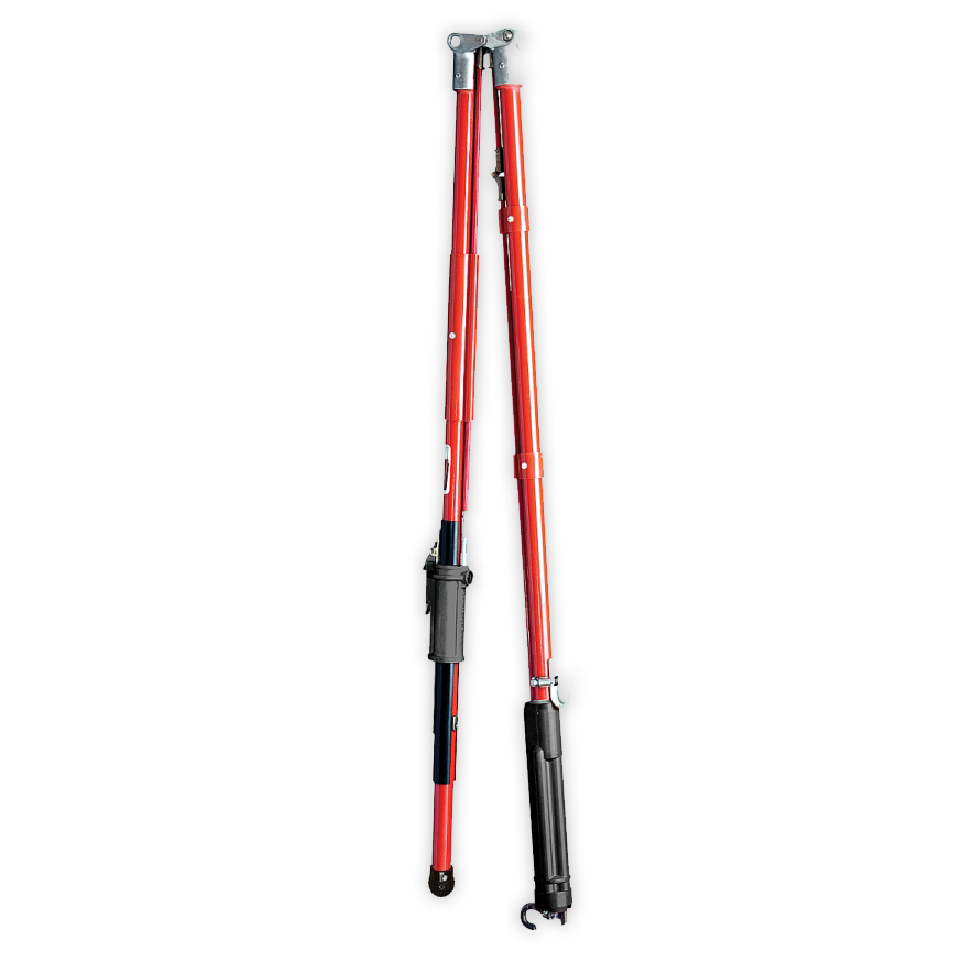 Chance 12' Grip-All Clamp Stick, (Hinged/Folding Shotgun)- C4030299