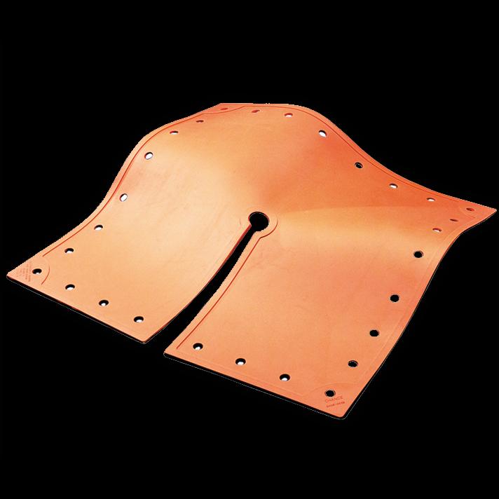 Chance Class 4 Orange Blanket (36 x 36, Split)- C4060348