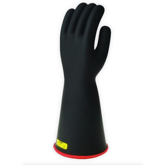 "Chance Class 2 Rubber Gloves Red/Black 14"" (Max Use: 17kV)"