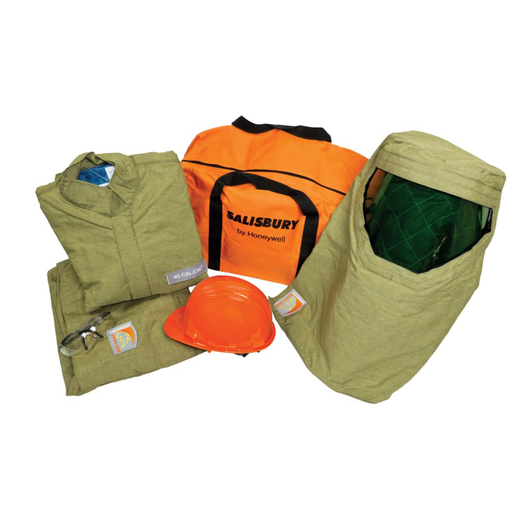 Salisbury Premium Lightweight Arc Flash Kit HRC4 (40 Cal)