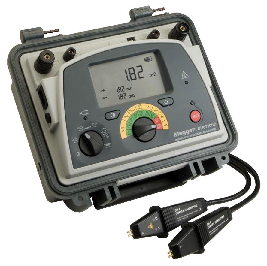Megger Digital Low Resistance Ohmmeter