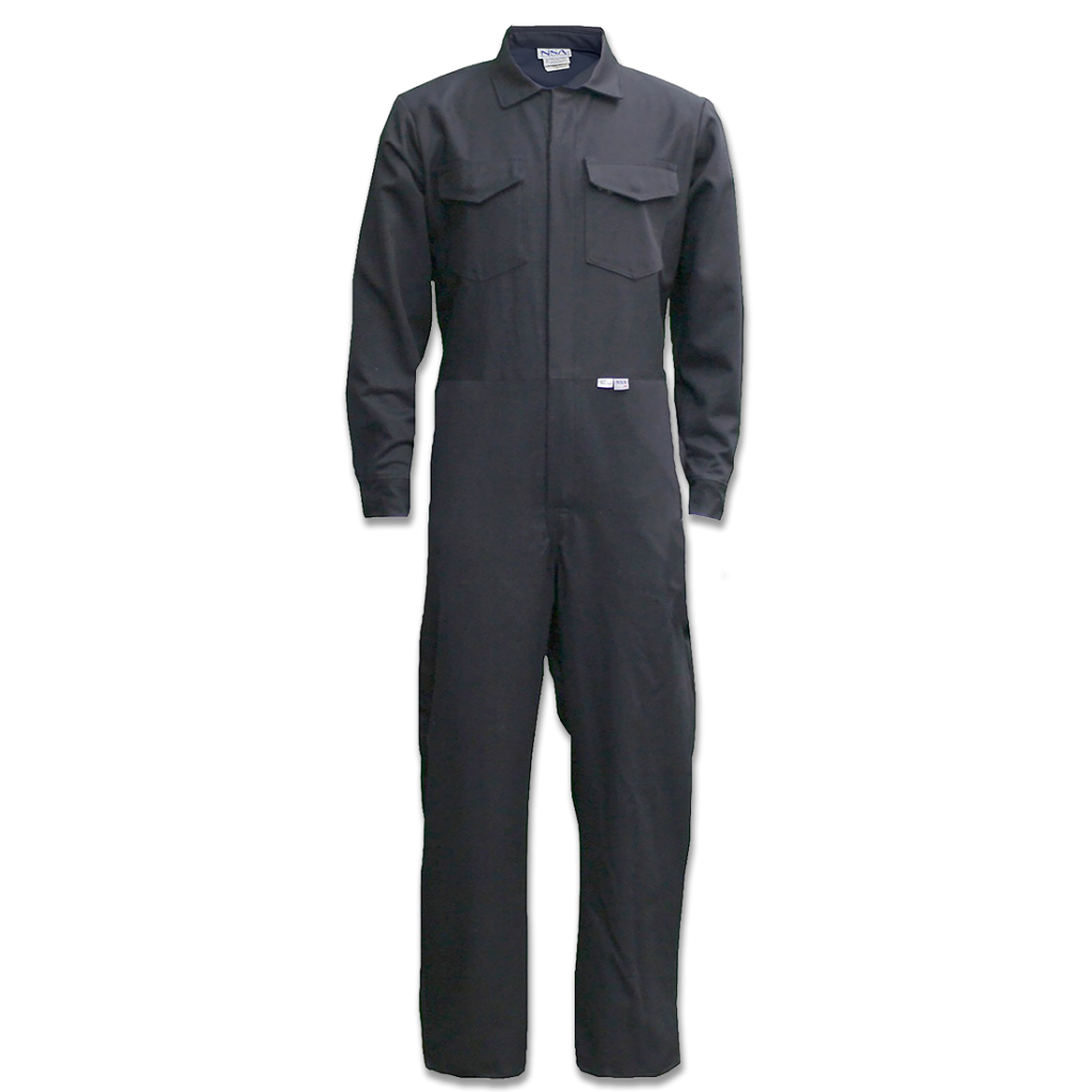 ULTRASOFT® Navy HRC 2 (12 Cal) Coveralls w/ Leg Zipper