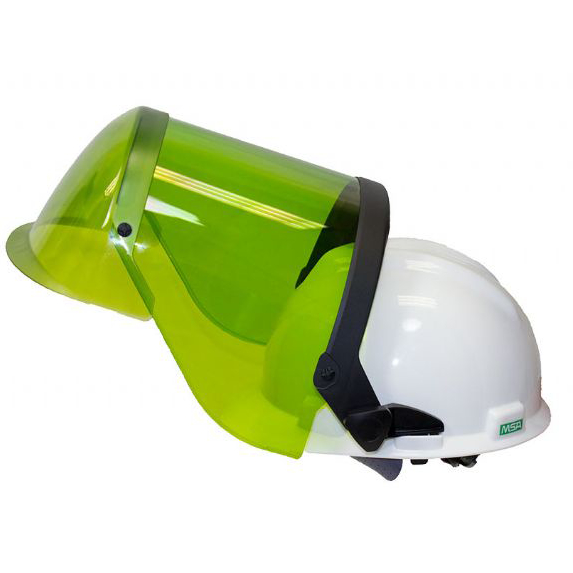 NSA Arc Flash Face Shield & Hard Hat (10 Cal)