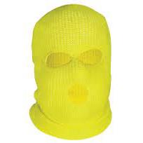 Yellow Hi-Vis Balaclava