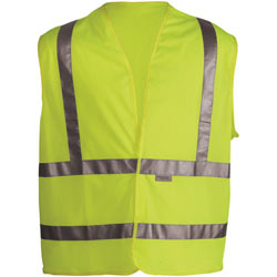 Hi-Vis Yellow Surveyor Vest (ANSI Class 2)