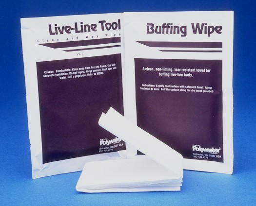 American Polywater: Hot Stick Wipes