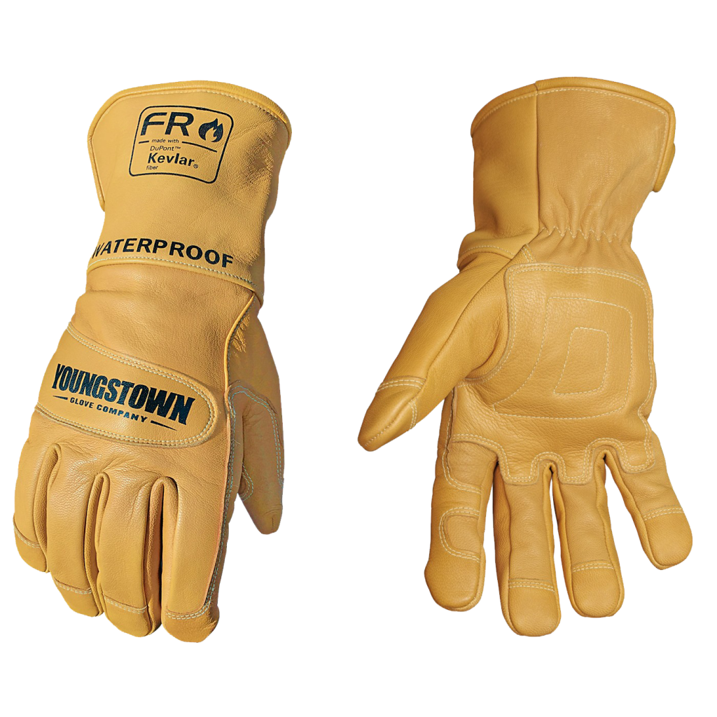 Leather Driver-Style Gloves