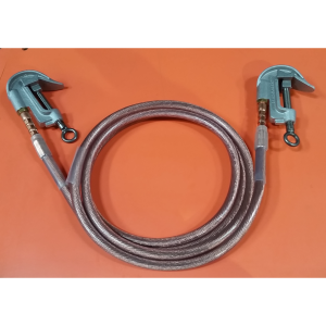 Grounding Cable 2-0 12 foot c clamps