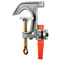 Salisbury 1923 2.4inch Aluminum C Type Grounding Clamps with Flat Lower Jaw – Acme Thread