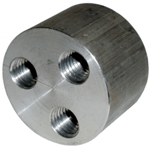 Salisbury 21702 Threaded Ferrule Four Way Connector
