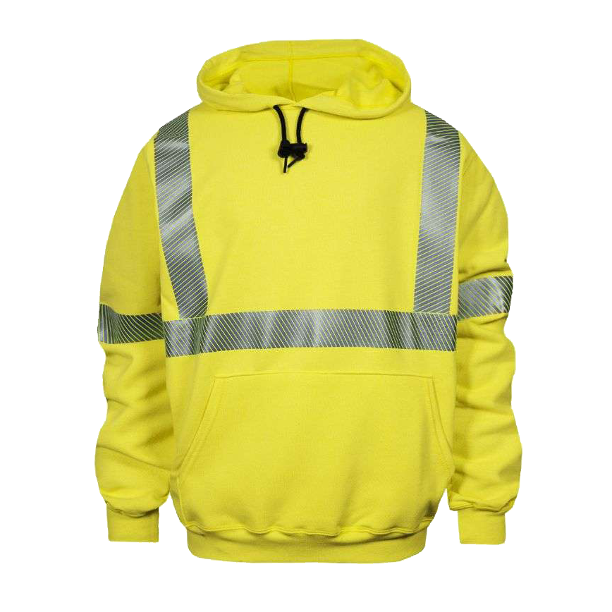 C21HC03C3 FR Hi Vis Hooded Sweatshirt