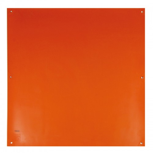Salisbury 36 X36 Orange Blanket W 6 Eyelets Class 2