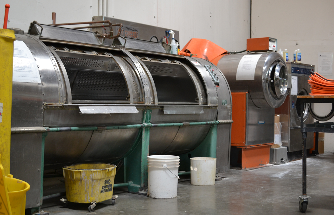 Rubber goods washing machine   | NAIL Accredited Testing Lab